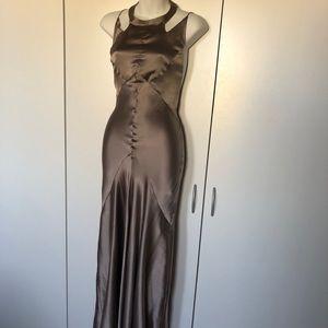 Topshop Premium Silk Bias-cut Gown size 6 NWT